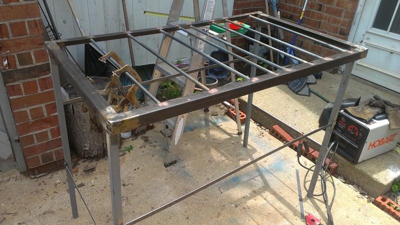 welding bench diy