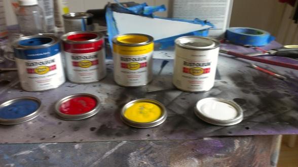 Oil Based Enamel Paint Custom Color